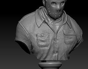 3D printable model Jason Friday the 13th Bust