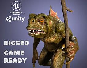 Frog monster 3D model