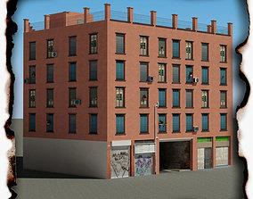 3D asset game-ready Building