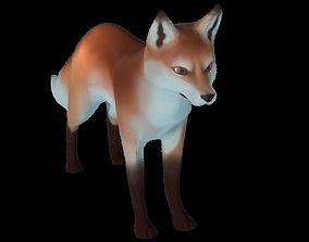 3D model VR-Animals Challenge Low Poly Fox