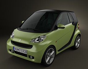 Smart ForTwo 2011 3D