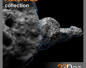 3D model Asteroids - Collection