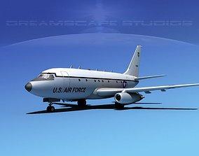 Boeing T-43 V03 USAF 3D model
