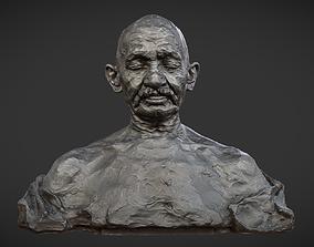 3D model Gandhi by Ram Sutar