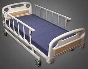 Hospital Bed 02 HPL - PBR Game Ready 3D asset
