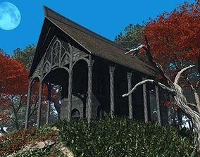3D model Elven Houses 1