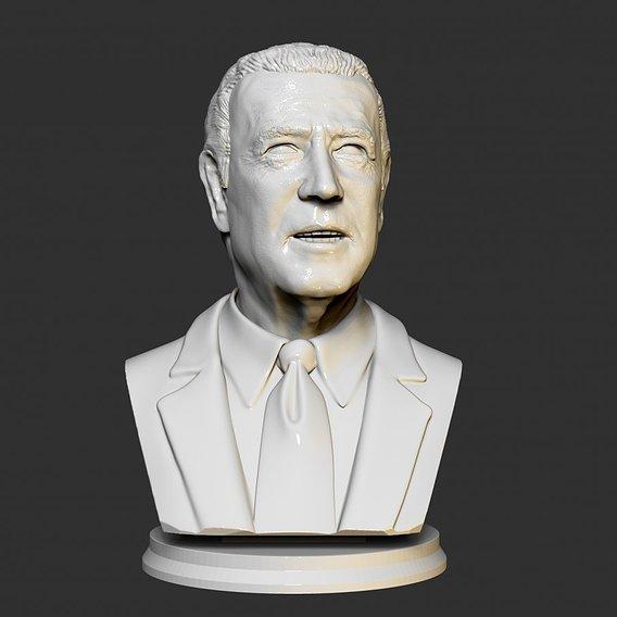 Bust Joe Biden 3D print model