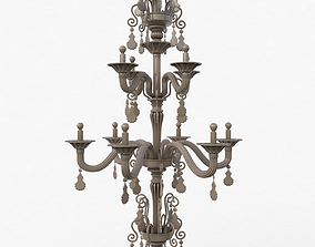 3D model Chandelier Torpedo Taif Clay Vray