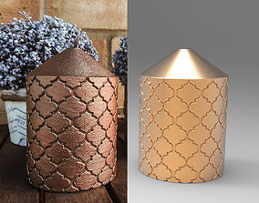 Decorative Candle for 3D printing and mold making