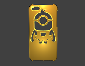 Case for iphone 5s minion 3D printable model