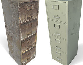 File cabinet - PBR Game-Ready 3D asset low-poly