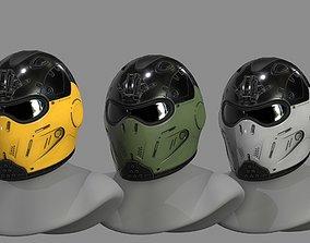 VX200 Helmet 3D asset