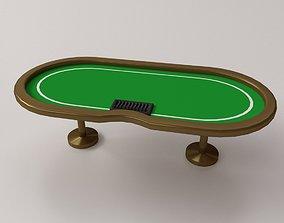 table 3D model Poker Table