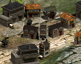 Townhouses and Chalets 3D model