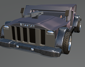 Best Wrangler Jeep 3dgame low-poly