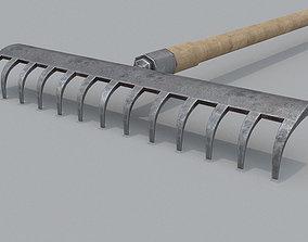 3D model realtime Rake PBR