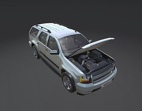 3D asset low-poly Game Ready Real Car 2