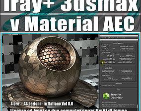Iray piu in 3dsmax 2016 vMaterial AEC Vol 8 Cd Front