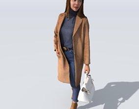 3D model Marina clothing