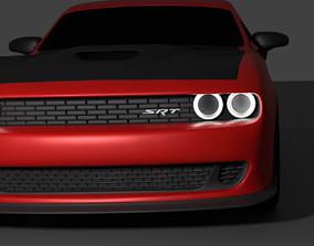 3D Dodge challenger SRT Hellcat