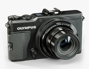 3D model Olympus XZ-2 iHS advanced compact digital camera