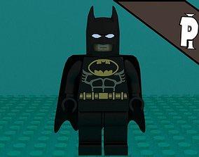 3D Lego Bat-man