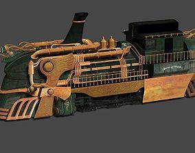 Punk Train 3D model