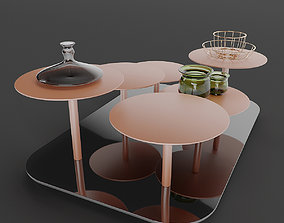 VALENTINE coffee tables 3D model