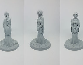 Keeper of the Flame 3D print model