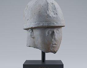 Warrior Head photogrammetry 3D