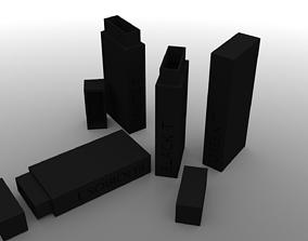 3D print model R3 Monolith Tea Box White T