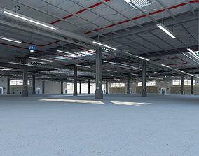 interior 3D Exhibition Hall model