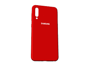 Samsung Galaxy A50 red case 3D print model