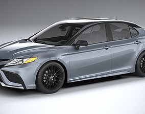 Toyota Camry XSE 2021 3D