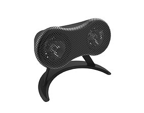 3D print model Desktop speaker concept