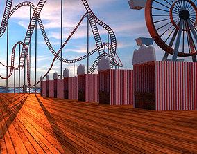 3D model Carnival Scene