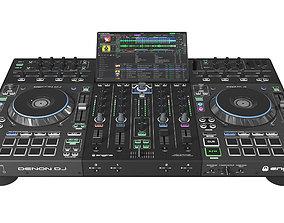 Denon DJ Prime 4 prime 3D model