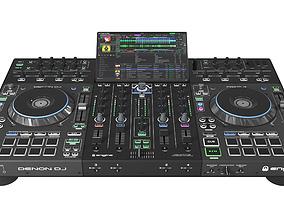 3D Denon DJ Prime 4