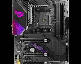 3D model ASUS ROG STRIX X570E-GAMING Motherboard PCB