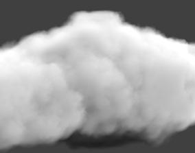 3D white cloud
