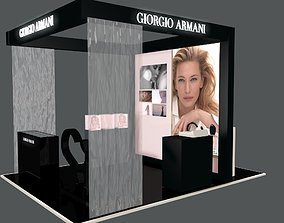 3D model Stand Armani in Saint-Petersberg