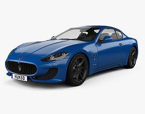 3D Maserati GranTurismo Sport 2012