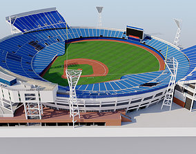 3D Yokohama Stadium - Baseball Japan dome