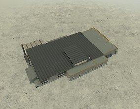 3D asset EDDB Lufthansa Technic Hangar