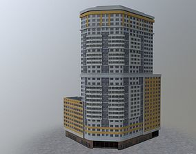Moscow House Building51 3D model