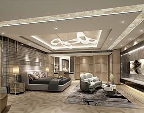 Interior design bedroom 3D