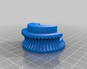 3D print model Linear Actuator Worm Gear