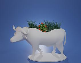 3D print model container succulent plant pot animal C1003