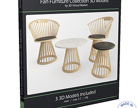 Fan Furniture Collection 3D