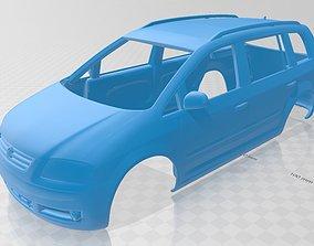 Volkswagen Touran Printable Body Car